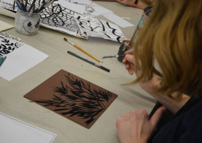 Workshop-gravure