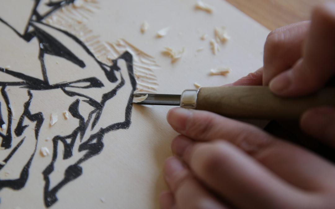 Workshop initiation à la technique de l'estampe japonaise – Samedi 3 octobre